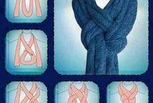 шарф сп- бы завязывания