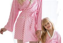 Mother Daughter Robes and Wraps Collection