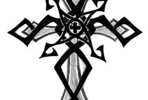 Cross tatto