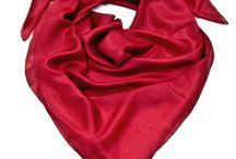 Foulards en soie / Foulards en soie - foulards en soie unis - foulards en soie imprimés - foulards en soie Palme - grand foulard en soie - petit foulard en soie