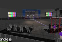CAD Designs - Visual Event Designs and Layouts / Sample layout designs of potential events as well as past events put together by the Endless Entertainment team.