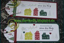 Stampin' UP! Weihnachten daheim /