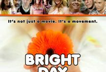 """Bright Day (Movie) / (Short Synopsis) """"Tripp Bailey is a washed-up journalist who longs to be a hard-hitting investigative reporter. But he has a plan … to infiltrate and debunk Hollywood's fastest-growing, new-age religion! Cameo appearances by Michael Cera, Richard Belzer, and Bill Maher."""" (Starring) Marc Evan Johnson (Transformers), Matt Price (TV's Men of a Certain Age, Man on the Moon), Maggie Rowe (Ocean's Thirteen, Fun With Dick and Jane), and Amy Stiller (Tropic Thunder, Zoolander, The Cable Guy). / by Green Apple Entertainment"""