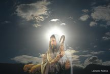 Jesus: Religious images / Beautiful sacred images over photographies