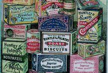 vintage tins / by Julia Wykes