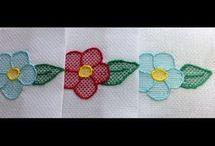 bordado flores vagonite