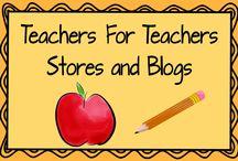 Teachers For Teachers: Stores and Blogs
