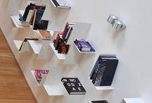 Knihovny / Knihy jsou samy o sobě tak zajímavý prvek, že mohou nahradit i umělecké dílo. Jen je potřeba najít vhodný způsob, jak a kam je umístit.