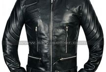 Terminator 3 Arnold Schwarzenegger Black Jacket / Get this stylish Rise of the Machines Terminator Black Leather Jacket at most cheap price from Sky-Seller and avail free Shipping.
