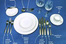 Dekoracje stołowe