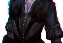 The Witcher (Yennefer, Geralt..)