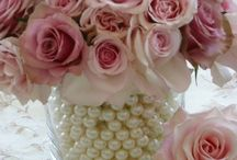 Roses and pearls party ideas