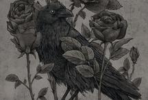 Corvids in Art / by Alice Joe