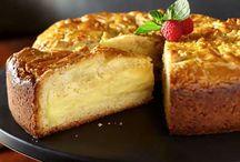 French Custard Butter Cake.