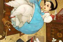 Korean Style Western Fairy Tale Characters