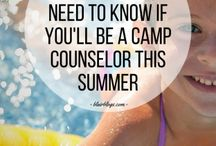how to be a camp counselor