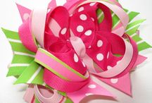 Crafts: Hairbows/Bows / by LindaDavid Hardison