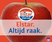 Elstar appels / Elstar is een kruising tussen Golden Delicious en Ingrid Marie. Het is een sappige, knapperige appel met een roomwit vruchtvlees. Het is een appel die nooit verveelt! Hij heeft een unieke aroma en smaak: fris en heerlijk zoet.