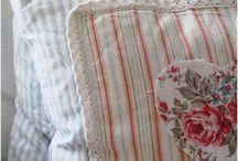 Sewing pillows