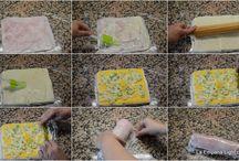 slané pečivo a rolády