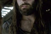 Guerriers, hommes cheveux longs
