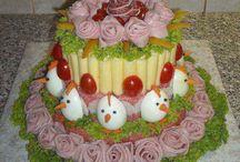 slané torty
