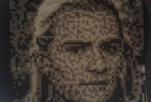 Hama bead art / All the art and bead pictures I've made