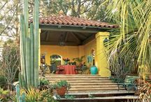 Outdoor Living  Areas Part I / The Loggia, Patio, Courtyards etc. / by Marianne Conner