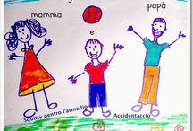 Giocando con Mamma e Papà / raccolta di giochi da fare in famiglia collection of games to play in the family