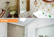 """Before and after renovation photos / Who doesn't love a good """"before and after"""" photo..."""