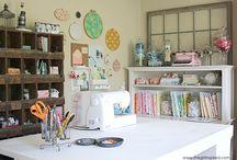 Craft rooms / by Violet Bienek