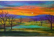 Landskap quilts