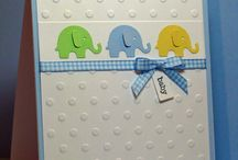 Baby cards / Handmade cards