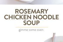 Recipes - Soups and Sauces