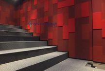 Sinema Salonu Akustik Kaplama / #akustik #akustikpanel