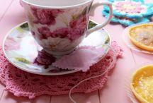 Tea time / Alm about pink, tea cup, tea bag