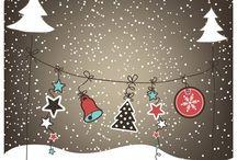 Vánoční přání, jmenovky