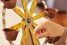 Material reciclable juguetes hijos / juguetes. Ideas útiles para reutilizar cosas de casa