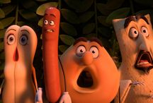 Sausage Party (2016) / Sausage Party, the first R-RATED CG animated movie, is about one sausage leading a group of supermarket products on a quest to discover the truth about their existence and what really happens when they become chosen to leave the grocery store.