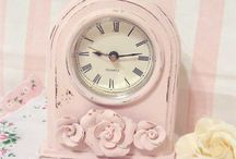 Pink shabby chic princess room