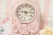 Pink shabby chic princess room