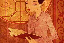 batik & kebaya animasi
