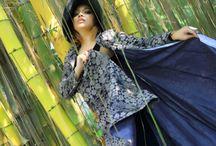 My style / My design long coats batik
