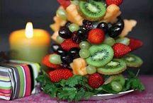 decoracion con alimentos