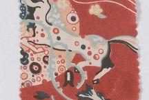Gustav Klimt textiles