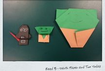 Star Wars Origami Art Gallery / by Carrie Goodall