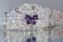 Tiaras / My tiara creations from I Do Tiaras / by Sarah Jackson