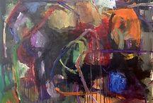Eva Katz Larsson acrylic 60x50 / Painting
