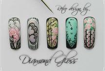 Valentine day nails / Valentýnské nehty