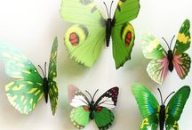 Butterfly Decorations Girls Room / Decorate your girls room!